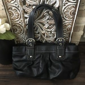 Coach Soho Pleated Leather Tote